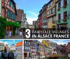 3 beautiful villages in alsace france