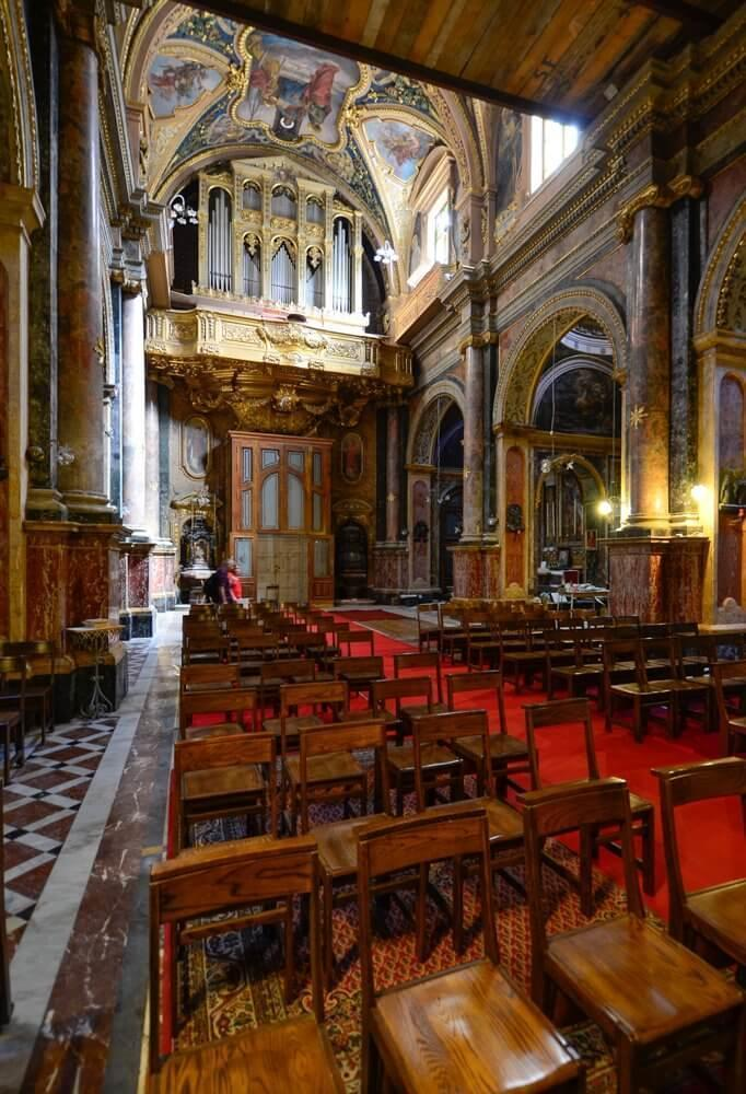 Church of St Paul's Shipwreck is one of many attractions in Valletta, Malta