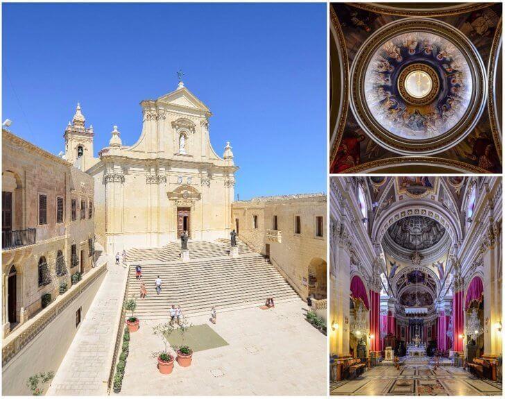Gozo's Citadel Malta points of interest