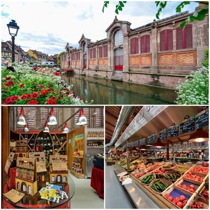 The covered market in Colmar France is the ultimate foodie destination