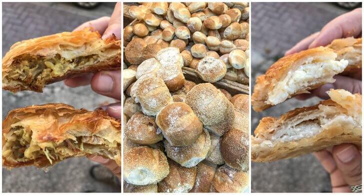Gormina Bakery serves traditional Maltese savoury pastries called pastizzi