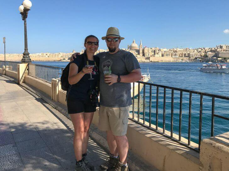 Happy Anniversary to us - Where better to celebrate than romantic Malta?