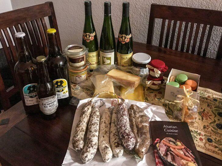 You're definitely not coming empty handed from Alsace