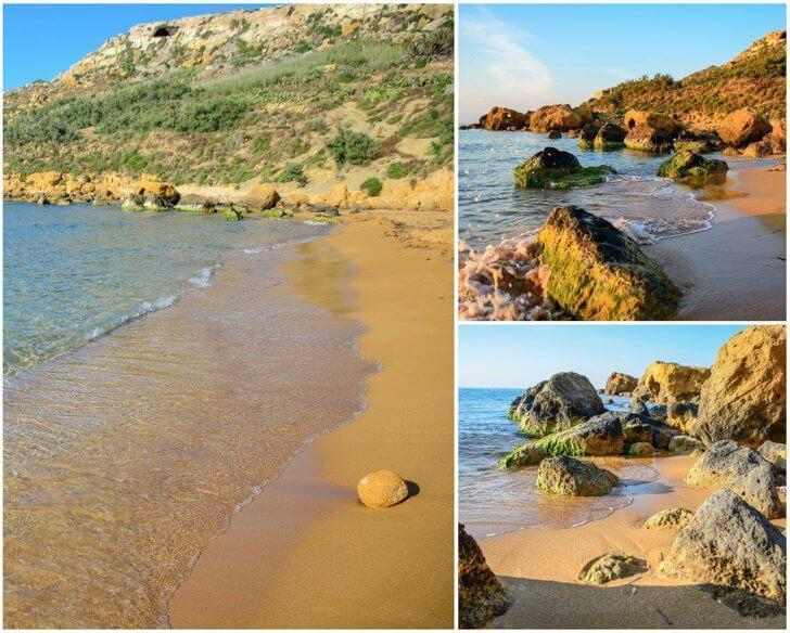 Ramla Bay offers one of the best beaches in Malta