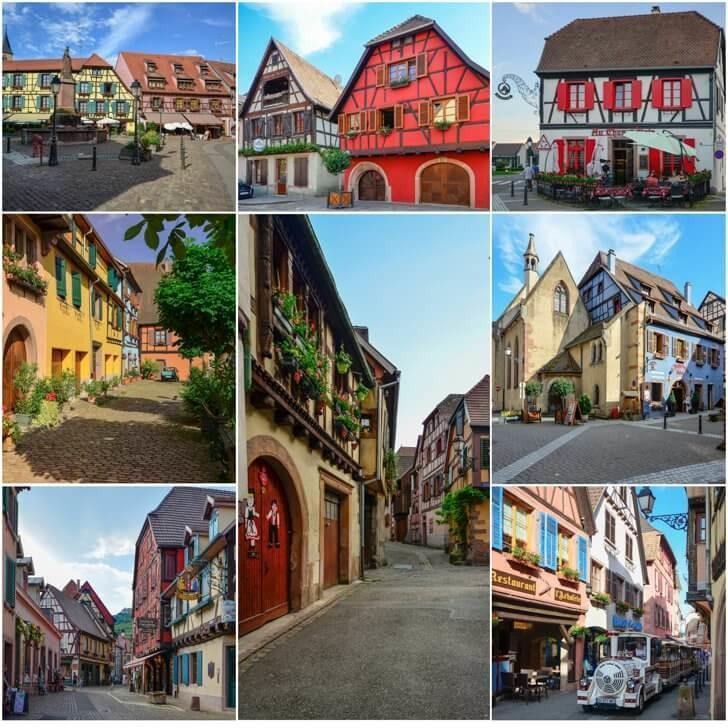 Wander the colourful streets of Ribeauville France