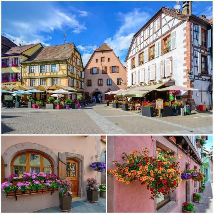 Ribeauville France is one of the most beautiful cities in Europe