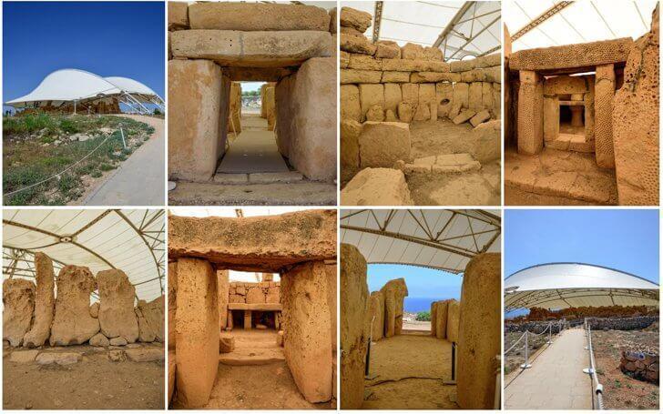 The Hagar Qim Temples in Malta are a UNESCO World Heritage Site