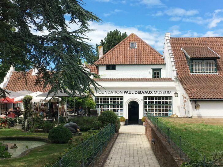 The Paul Delvaux Museum, Koksijde, Belgium