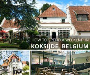 Monika spends a family-friendly weekend on the Belgian Coast, discovering Koksijde's beach, museums, restaurants, and a lovely bed and breakfast.