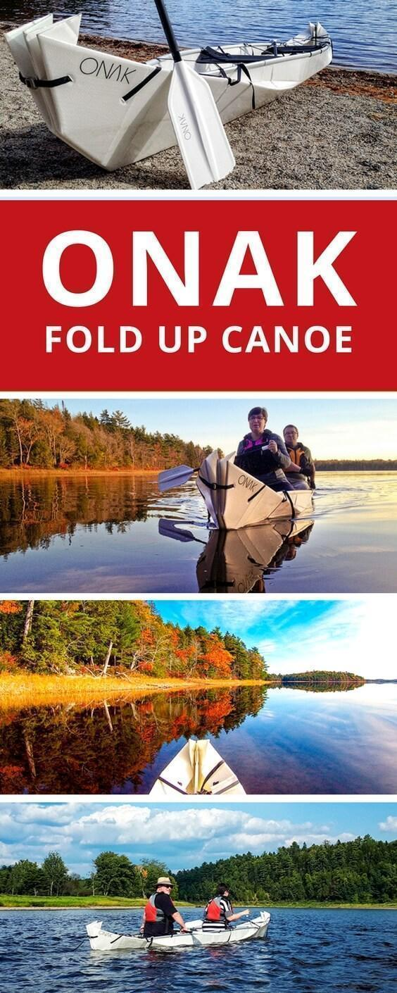 We introduce our Onak origami canoe and review our portable folding boat perfect for RV living.