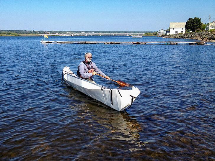 The ONAK gets a professional test-drive at Beaubears Island.
