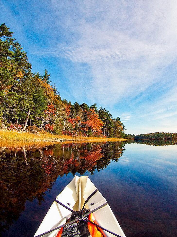 We're loving exploring Canada in our ONAK canoe