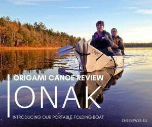Our ONAK origami canoe review