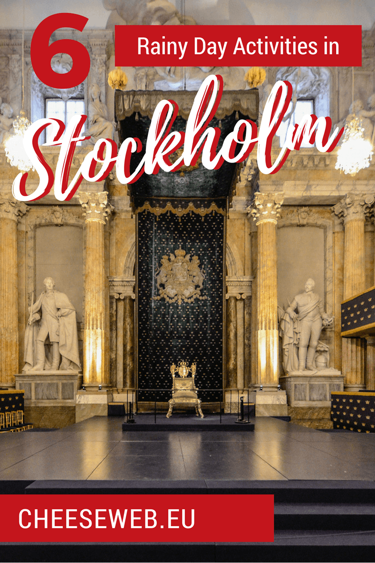Read on for all the best things to do in Stockholm, Sweden in winter, rain, or other bad weather conditions.