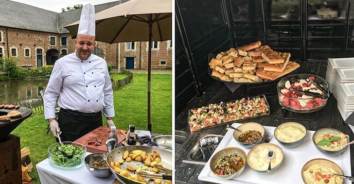 Mastercooks showcasing Belgian cuisine