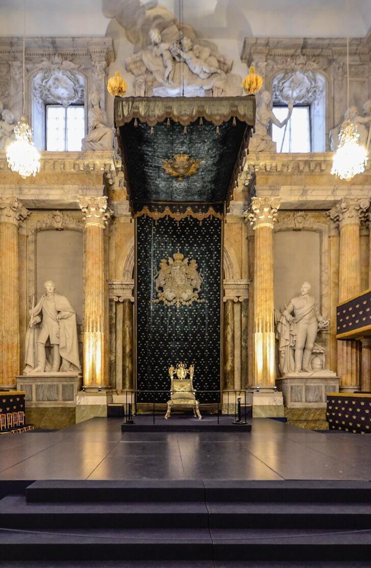 Inside Stockholm's Royal Palace