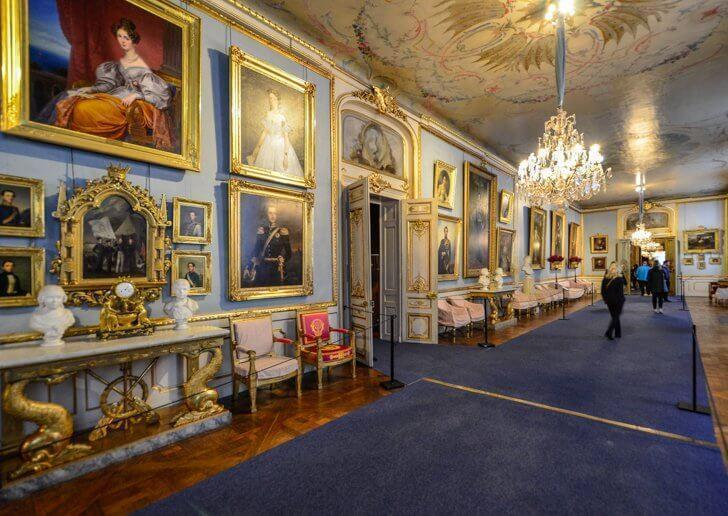 Explore the many works of art in Stockholm's Royal Palace