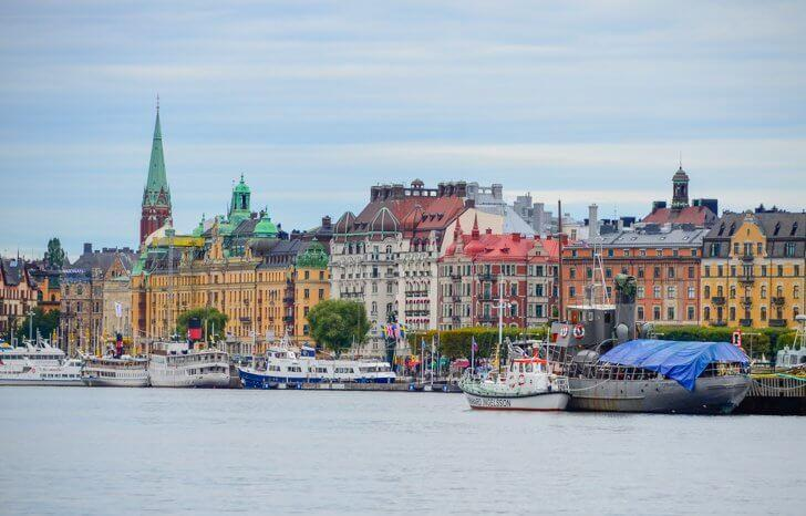 Even in dreary weather, Stockholm offers visitors plenty of things to do.
