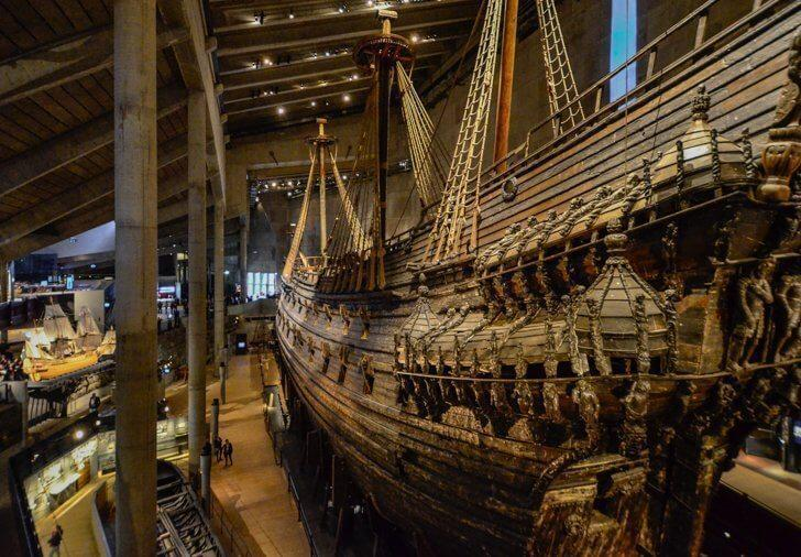 Stockholm's Vasa Museum was built to house a recovered sunken ship