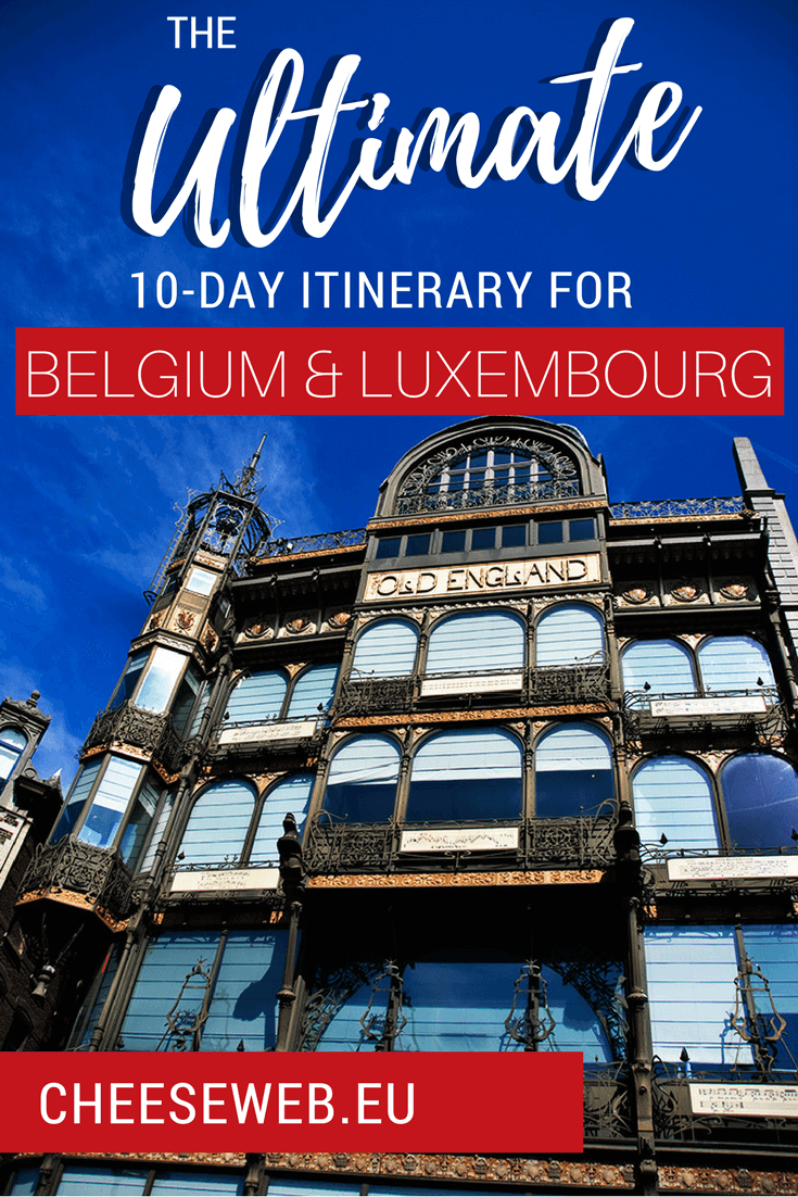 Our itinerary for 10-days in Belgium and Luxembourg, covering the best things to do, where to stay, where to eat, and how to get around. This flexible itinerary includes budget and luxury hotels and will give you plenty of activity options.