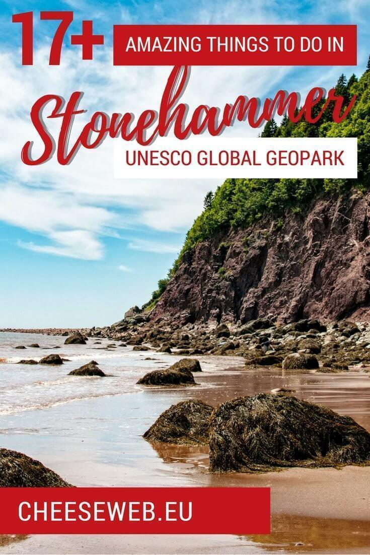If you think a Stonehammer is to pound rocks and are wondering just 'what is a geopark,' head to Saint John, New Brunswick, Canada to discover the amazing activities UNESCO's Stonehammer Geopark has to offer.