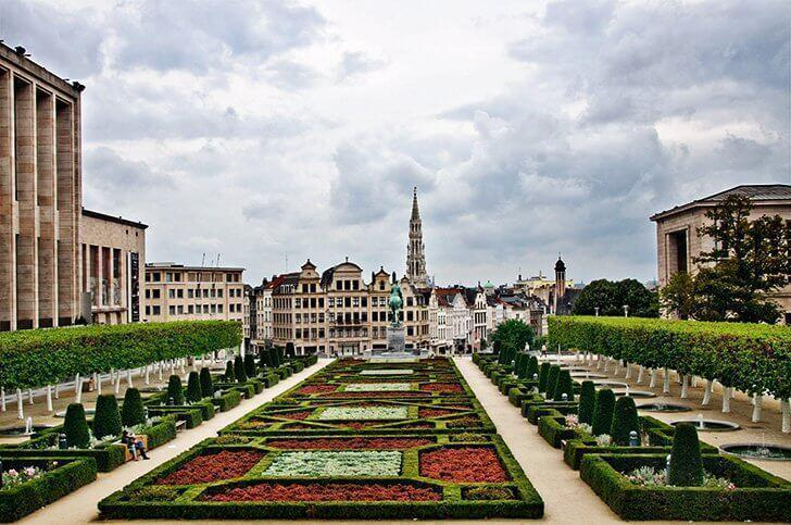 Things to do in Belgium Mont des Arts