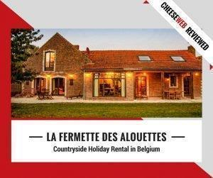 If you're looking for countryside holiday cottages in Belgium, you don't have to go far beyond Brussels to escape to nature. Monika reviews La Fermette des Alouettes, an 18-century farmhouse in Beauvechain.