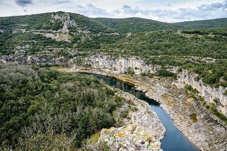 Monts d'Ardèche UNESCO Global Geopark in France