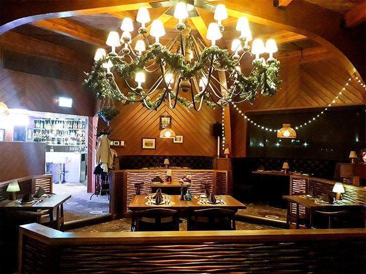 Inside the newly reopened The Falls Restaurant, Saint John, NB
