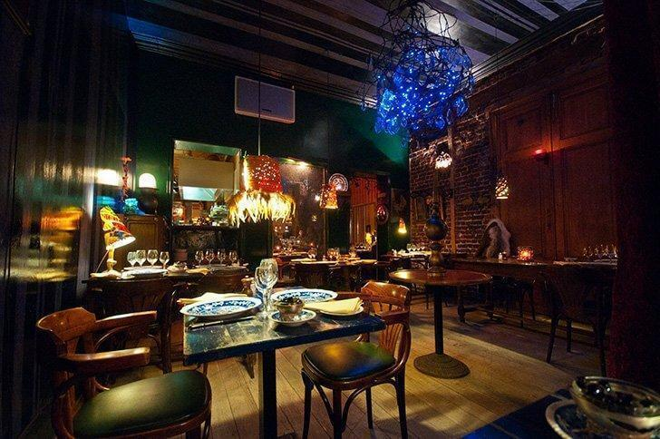 L'idiot du Village is one of our top restaurants in Brussels.