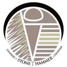 Stonehammer global geopark logo