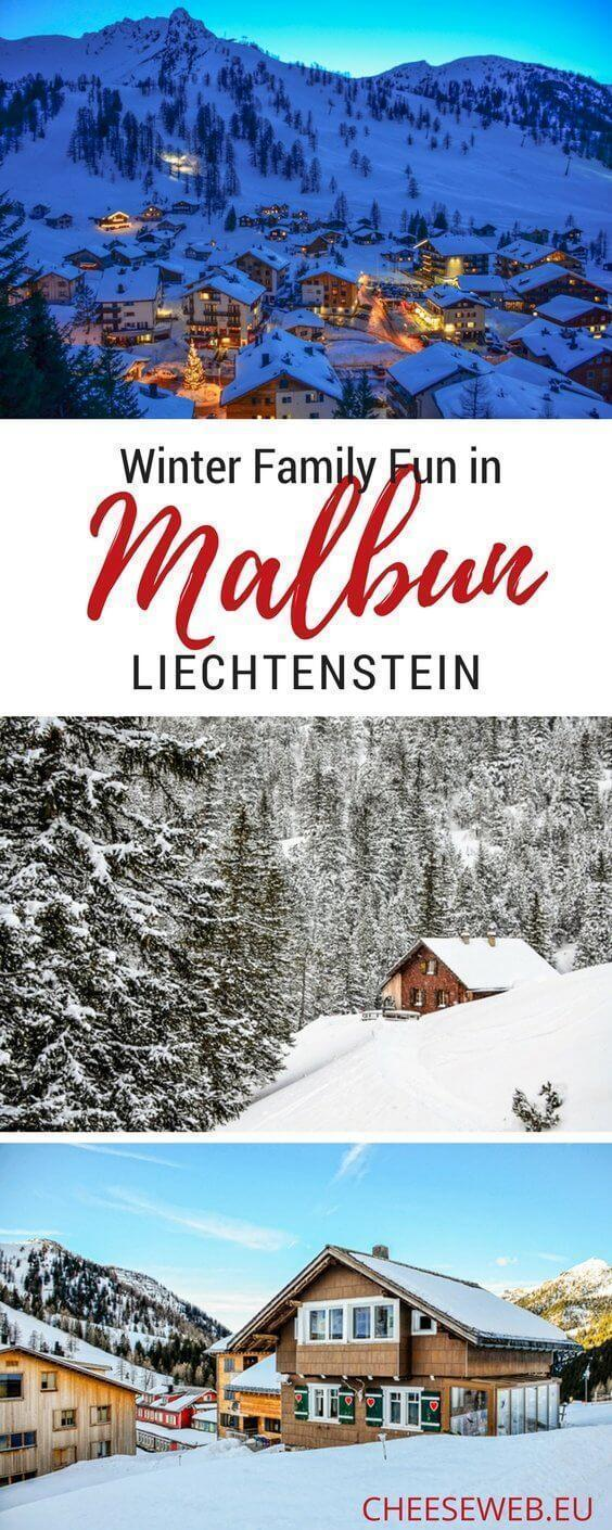Adi shares a winter day-trip to Liechtenstein's only ski resort town and some great ideas for things to do in Malbun.