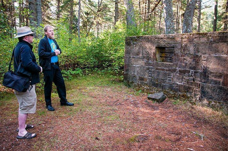 Discover Beaubears Island's sites with a passionate tour guide from the Friends of Beaubears Island.
