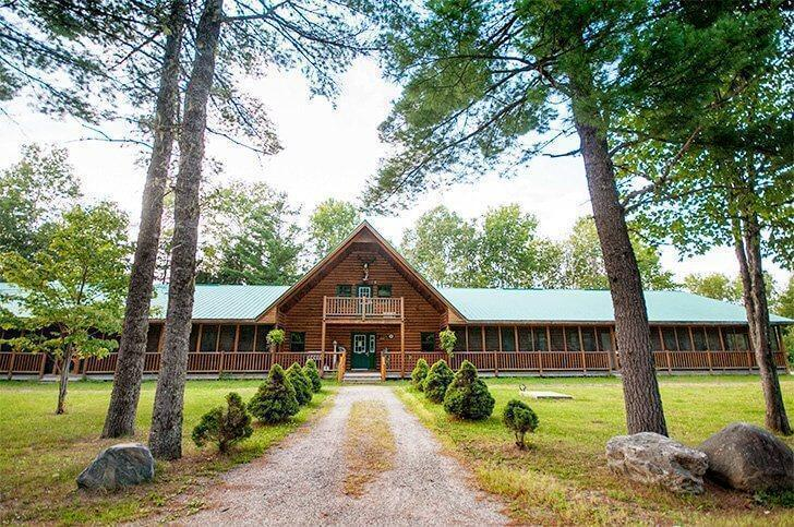 Escape to nature at the Metepenagiag Outdoor Adventure Lodge on the Miramichi River