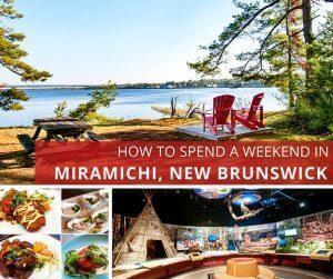 Miramichi is the largest city on New Brunswick's Acadian Coast, a hub for multicultural history and a gateway to outdoor adventure. We share where to stay in Miramichi, the best places to eat, and all the best things to do in Miramichi, NB on a fabulous weekend escape.