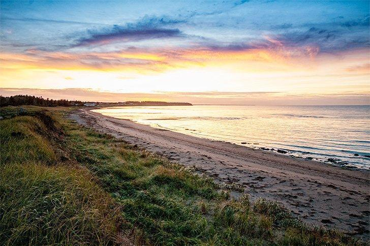 Don't miss the epic sunsets at Murray Beach Provincial Park.
