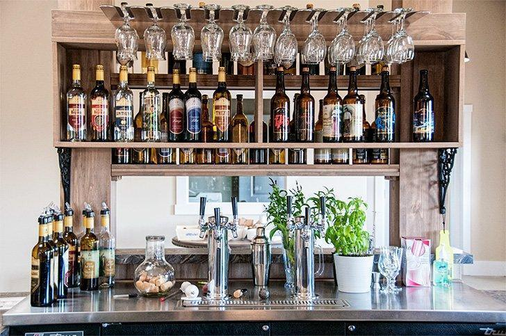 Be sure to have a drink in the tasting room at Distillerie Fils du Roy