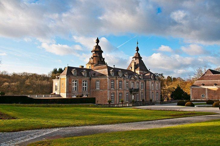 The Chateau de Modave is one of the many castle in Liege Belgium