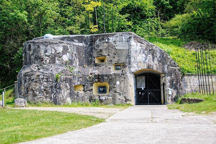 Eban-Emael is one of the 12 forts of Liege.