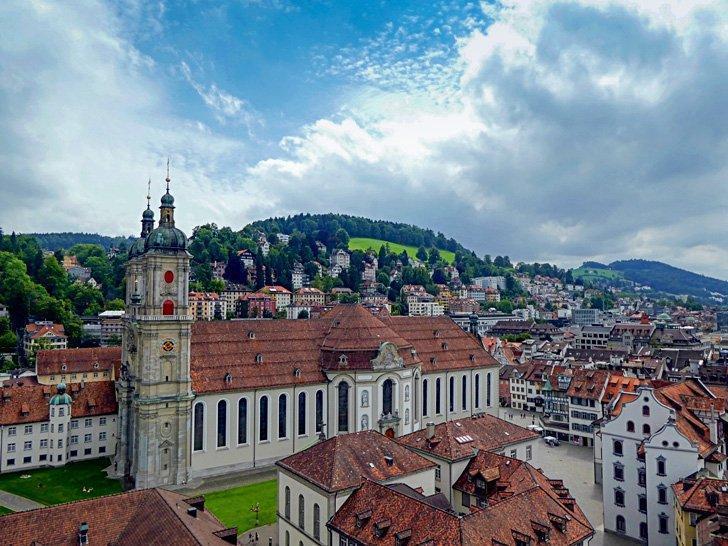 St Gallen switzerland day trip from Zurich
