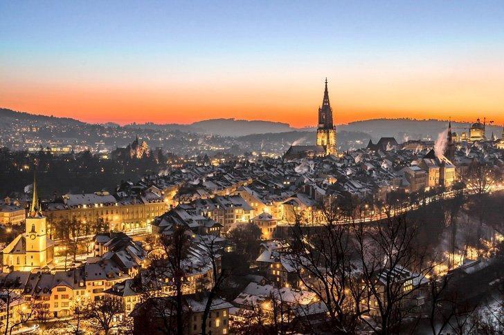 Bern Switzerland from Zurich