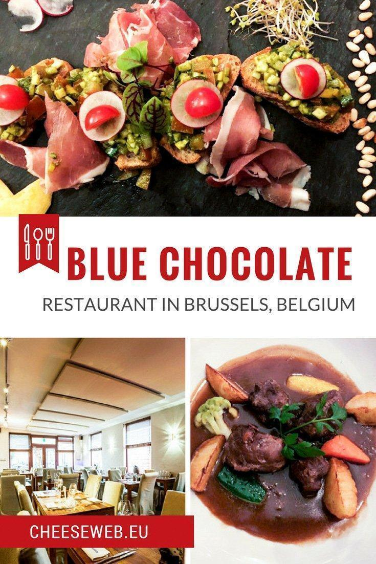Monika reviews Blue Chocolate Restaurant in Place Saint Job in Brussels' neighbourhood of Uccle, Belgium. The menu takes a modern approach to French cuisine in a warm and cosy setting.