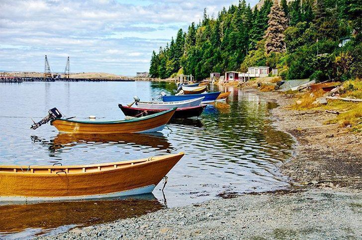 camping New Brunswick on Grand Manan Island