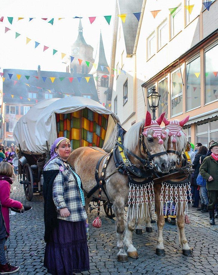 Fasnet in Weil der Stadt, Germany