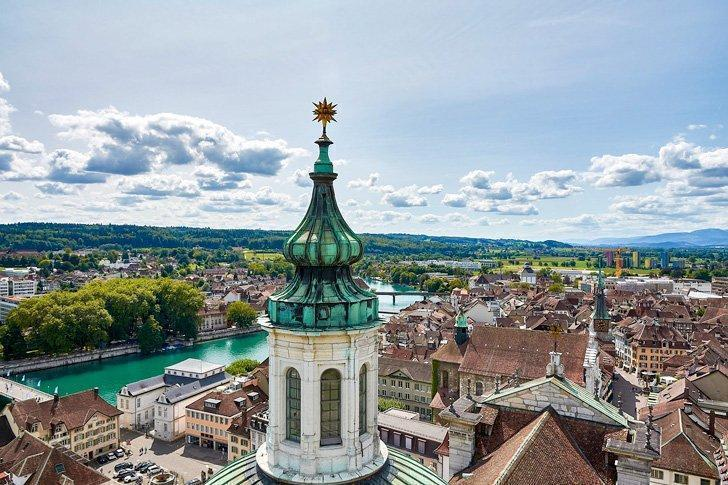 Solothurn Switzerland is one of the best day trips from Zurich.