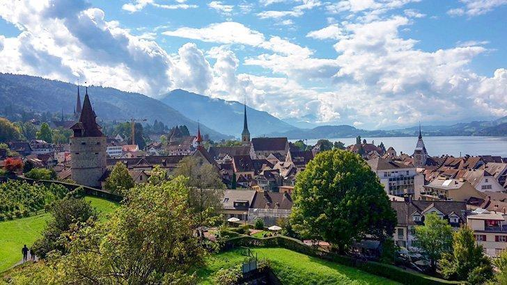Add picturesque Zug, to your list of things to see in Switzerland.