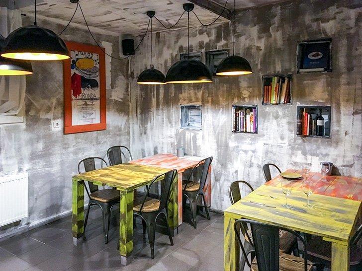 The unassuming Cocina de Jose serves amazing Spanish cuisine in Vilnius, Lithuania