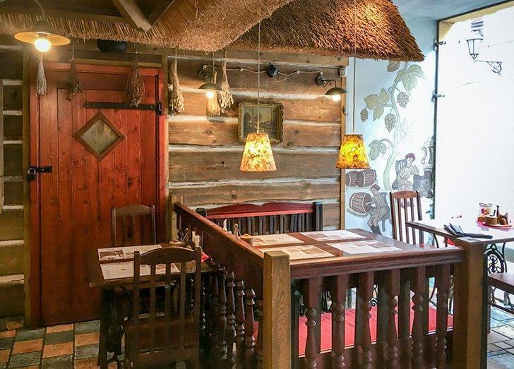 Forto Dvaras Restaurant in Vilnius Lithuania