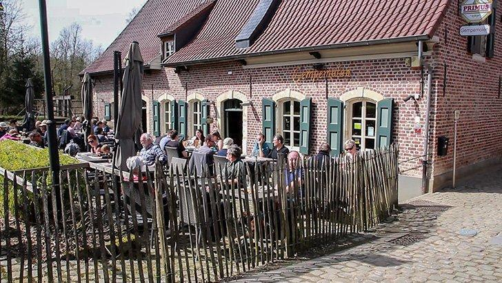The Gempemolen, a former watermill is now a picturesque pub.