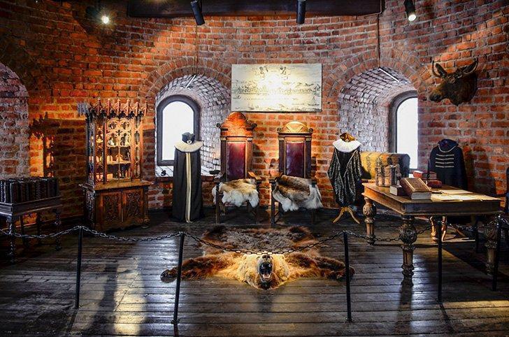 Inside Kaunas Castle, Kaunas Lithuania